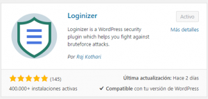 loginizer plugins wordpress