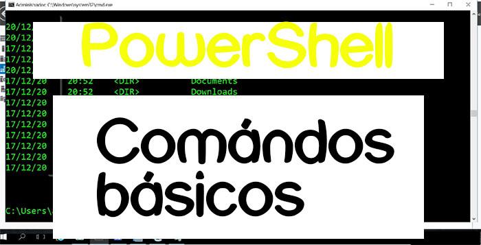 comandos básicos de powershell